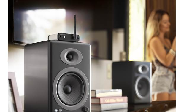 Audioengine B-Fi Connects powered speakers to your Wi-Fi network