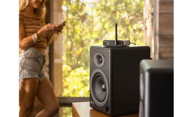 Audioengine B-Fi Stream via Wi-Fi to connected power speakers