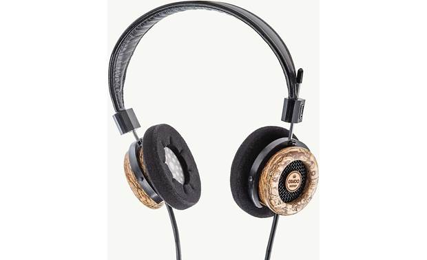 Grado Hemp Headphones Vented diaphragms help lower distortion