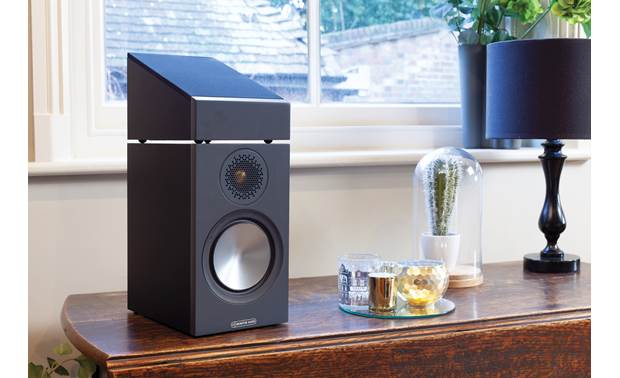 Monitor Audio Bronze AMS Shown with Bronze 50 bookshelf speaker (not included)