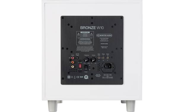 Monitor Audio Bronze W10 Back (shown in white)