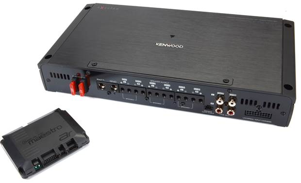 Kenwood Excelon P-XR600-6DSP 6-channel amp/DSP and Maestro AR module