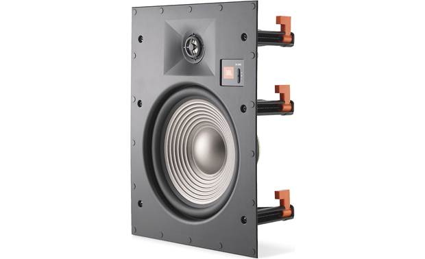 JBL Studio 2 8IW Shown with paintable grille removed