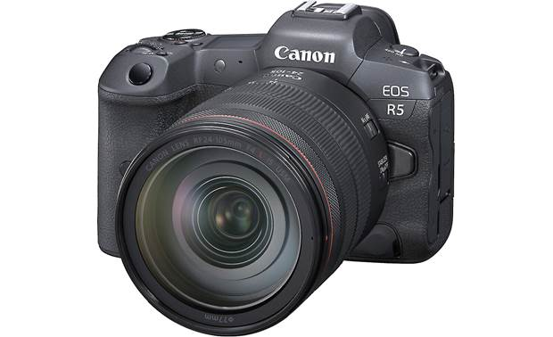 Canon EOS R5 L Series Zoom Kit A 45-megapixel full-frame CMOS sensor captures ultra-high-resolution photos and videos