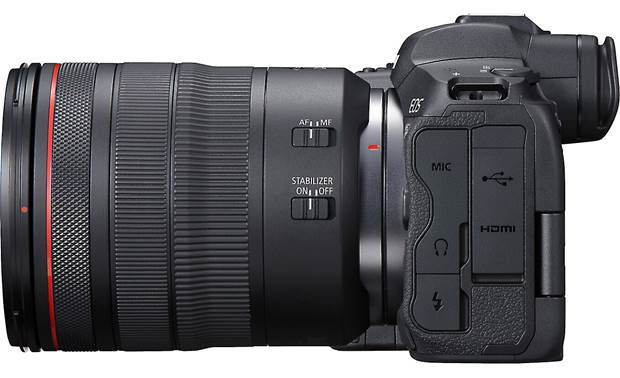 Canon EOS R5 L Series Zoom Kit Shown with included lens