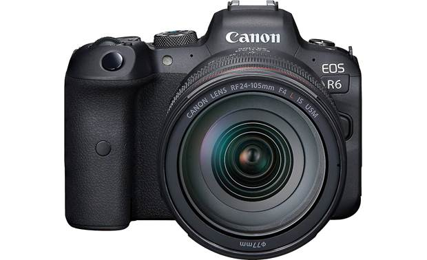 Canon EOS R6 L Series Zoom Kit Shown with included lens
