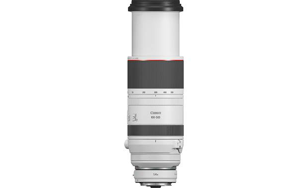 Canon RF 100-500mm f/4.5-7.1 L IS USM Shown fully extended