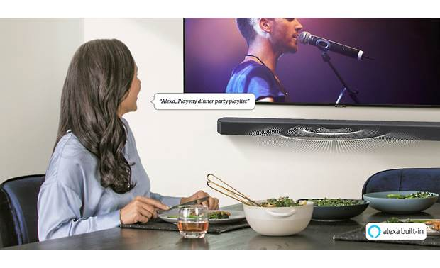 Samsung HW-Q950T Built-in Amazon Alexa voice control