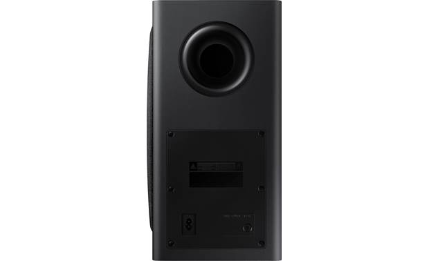 Samsung HW-Q950T Ported subwoofer delivers deep bass