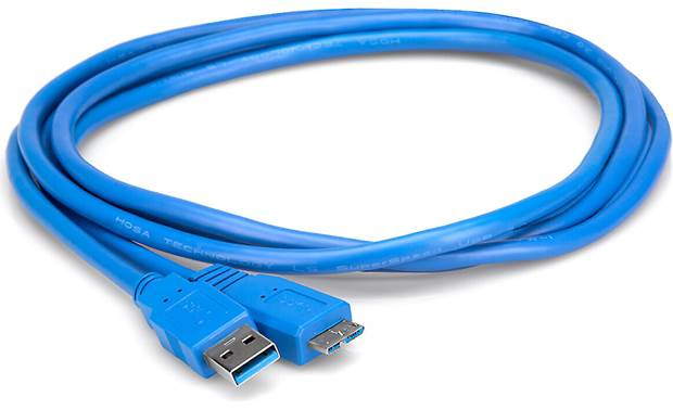 Hosa SuperSpeed USB 3.0 Adapter Cable Front