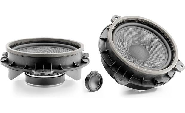 Focal Inside IS TOY 165 Focal designed these vehicle-specific speakers for easy installation