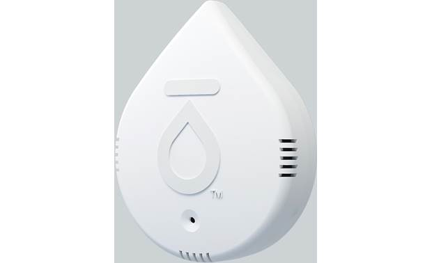 Flo by Moen Smart Water Leak Detector The device can sound an audible alarm, flash an LED light, or send an alert via the app when problematic conditions are detected
