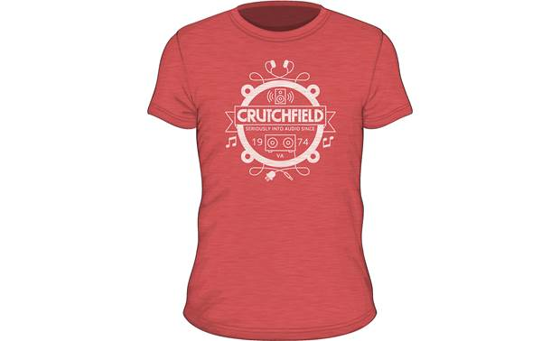 Red Crutchfield Camp Shirt Front