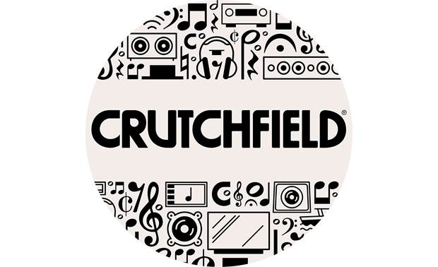 Crutchfield Circle Logo Sticker Front