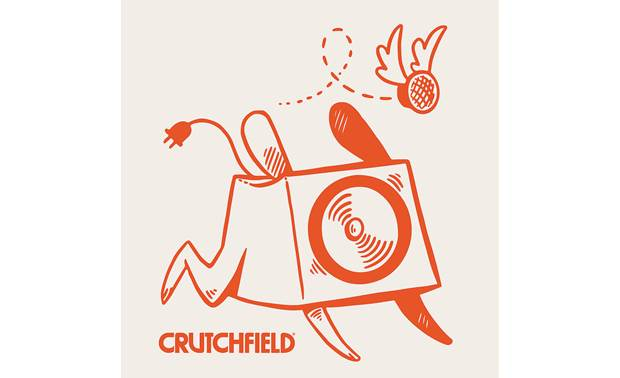 Crutchfield Woofer and Tweeter Sticker Front