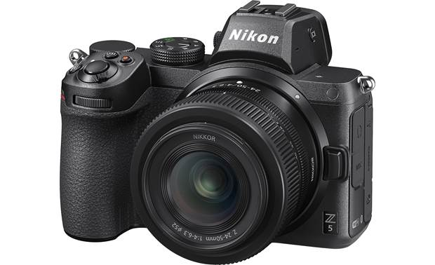Nikon Z 5 Zoom Lens Kit Shown with included lens attached
