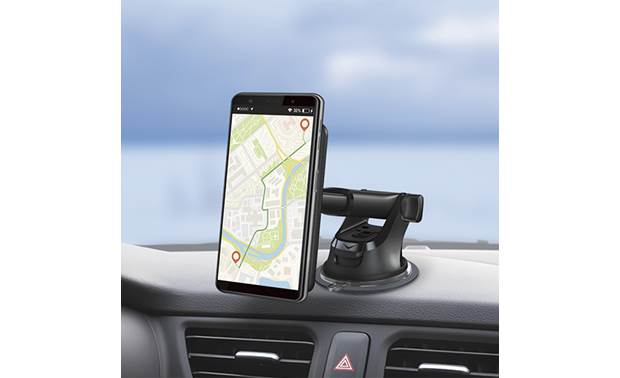 JVC KS-GC10Q The included suction-cup mount can be used on the dash or on the windshield
