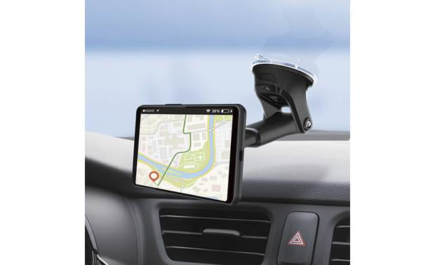 JVC KS-GC10Q This charging mount's viewing adjustments make it great for navigation apps