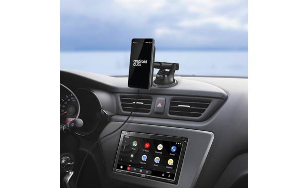 JVC KS-GC10Q Perfect if you're using battery-consuming wireless technology like Android Auto, Apple CarPlay, or Bluetooth