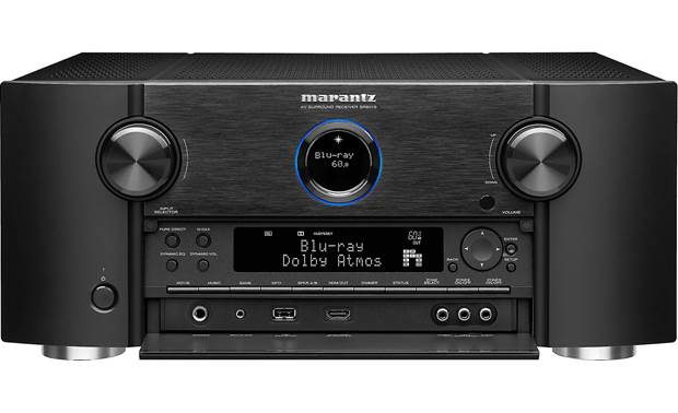 Marantz SR8015 (2020 model) Shown with front panel open