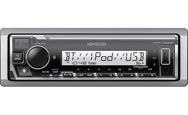 6-1//2 Marine Speaker KMR-M328BT /& KFC-1633MRW Kenwood PKG-MR328BT Receiver Package