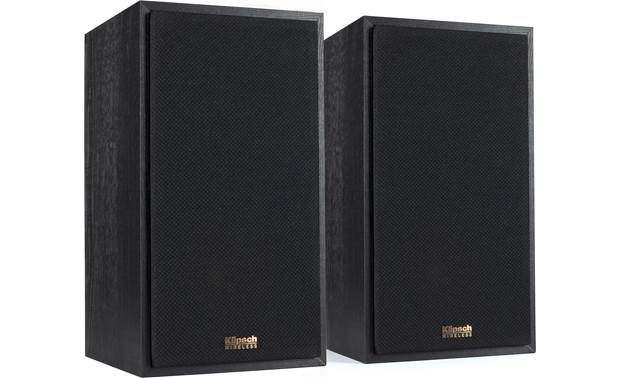 Klipsch Reference Wireless 2.1 Sound System Speakers with grilles in place