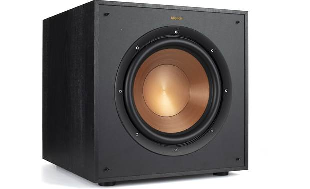 Klipsch Reference Wireless 5.1 Sound System RW-100SW subwoofer with grille removed