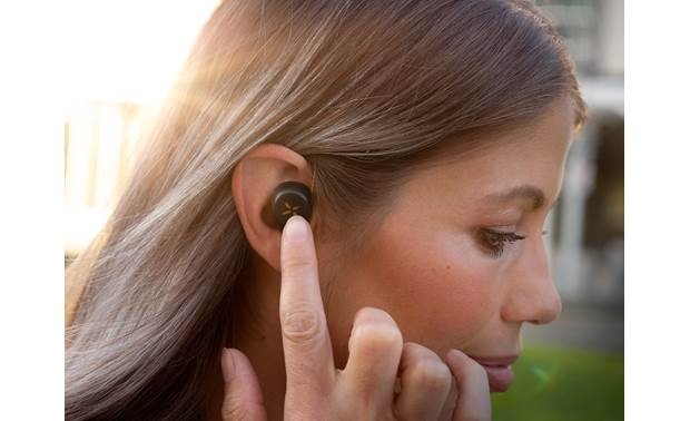 Klipsch S1 True Wireless On-ear controls over music and calls