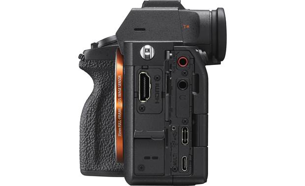 Sony Alpha a7S III (no lens included) Side-panel connections