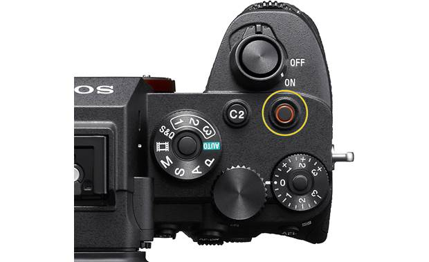 Sony Alpha a7S III (no lens included) Top-panel controls