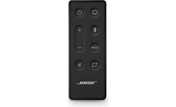 Bose TV Speaker The remote has independent bass volume control