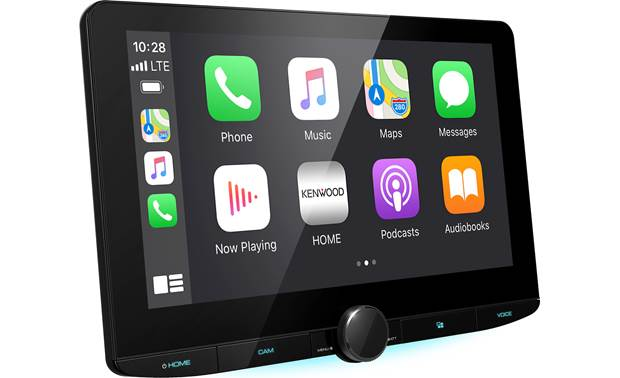 Kenwood DMX1037S shown with Apple CarPlay