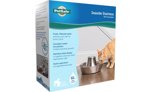 PetSafe Seaside Stainless Pet Fountain Other