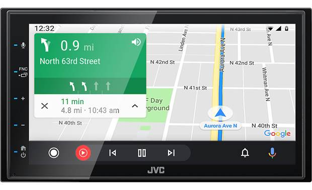 JVC KW-M56BT Use your favorite navigation apps