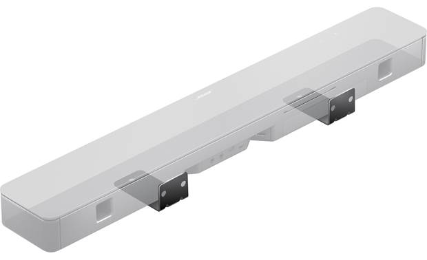Bose® Smart Soundbar 300 Sound bar can be wall-mounted with an optional bracket (sold separately)