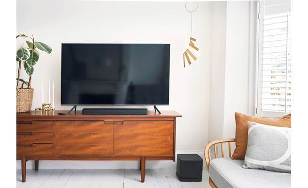 Bose® Smart Soundbar 300 An optional Bass Module can be added to bring more bass to your system (sold separately)