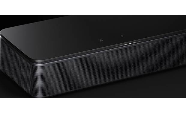 Bose® Smart Soundbar 300 Mute and power controls on the top of the sound bar
