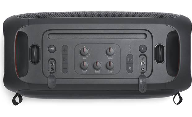 JBL PartyBox On-The-Go Top-mounted controls