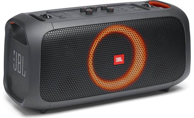 JBL PartyBox On-The-Go Light show with selectable effects