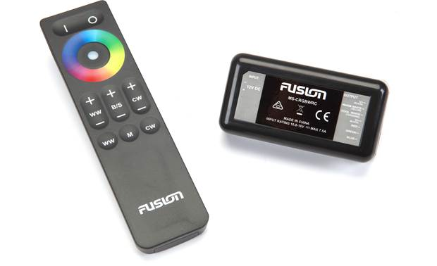 Fusion MS-CRGBWRC wireless remote w/ controller