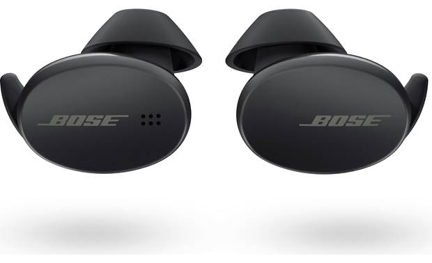 Bose Sport Earbuds Bose's StayHear Max ear tips fit comfortably and securely