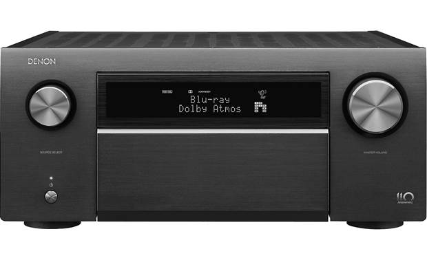 Denon AVR-A110 (110th Anniversary Edition) Shown with front panel closed