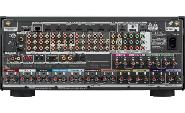 Denon AVR-A110 (110th Anniversary Edition) Back