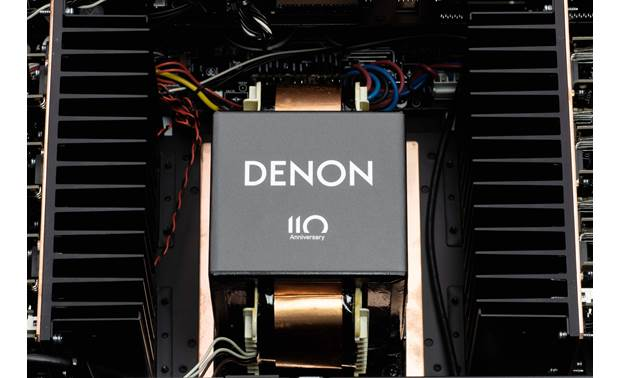 Denon AVR-A110 (110th Anniversary Edition) Specially badged high-current power supply
