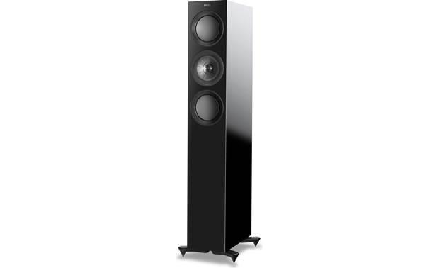 Pair, Gloss Black KEF R5 Floorstanding Speaker R5BL Renewed
