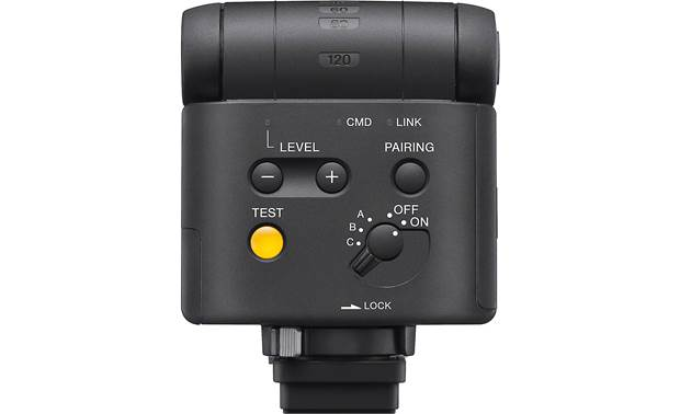 Sony HVL-F28RM Dedicated output level buttons for quick lighting adjustments