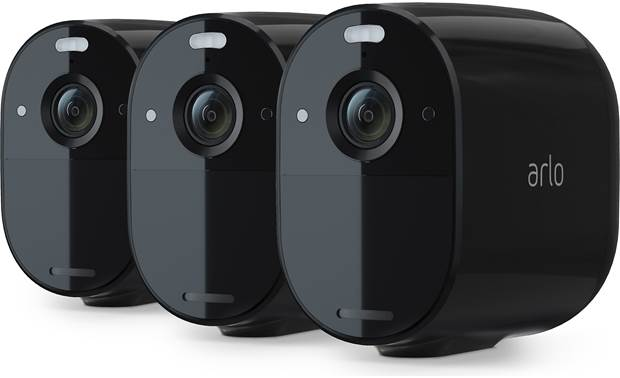 Arlo Essential Spotlight Camera 3-pack Front