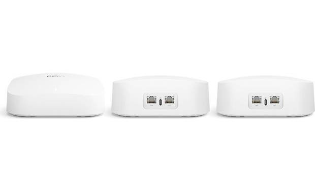 eero Pro 6 Wi-Fi® System (3-pack) Dual Gigabit Ethernet ports on each module