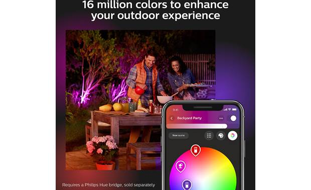 Philips Hue White & Color Ambiance Discover Outdoor Floodlight Other