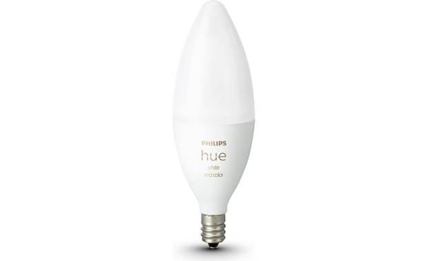 Philips Hue White and Color Ambiance E12 Bulb E12 base with B39 form factor